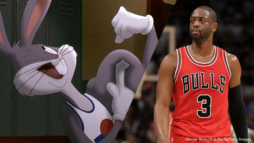 Dwyane Wade, Bugs Bunny