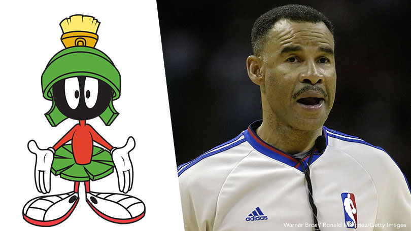 Marvin The Martian, Danny Crawford