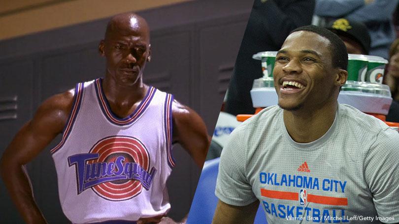 Michael Jordan, Russell Westbrook