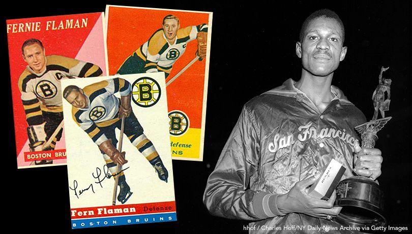 Bruins, Celtics In 1957 Finals