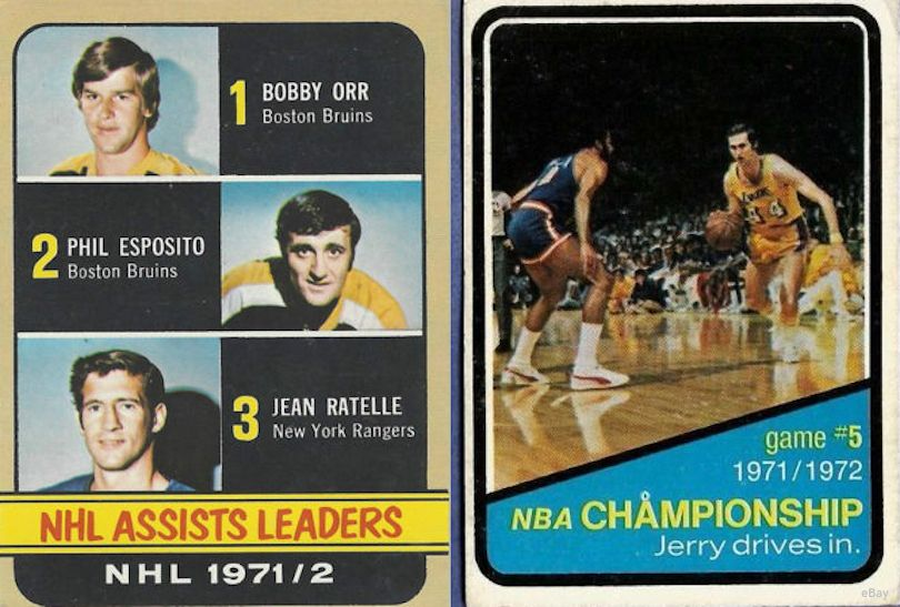 Rangers, Knicks In 1972 Finals