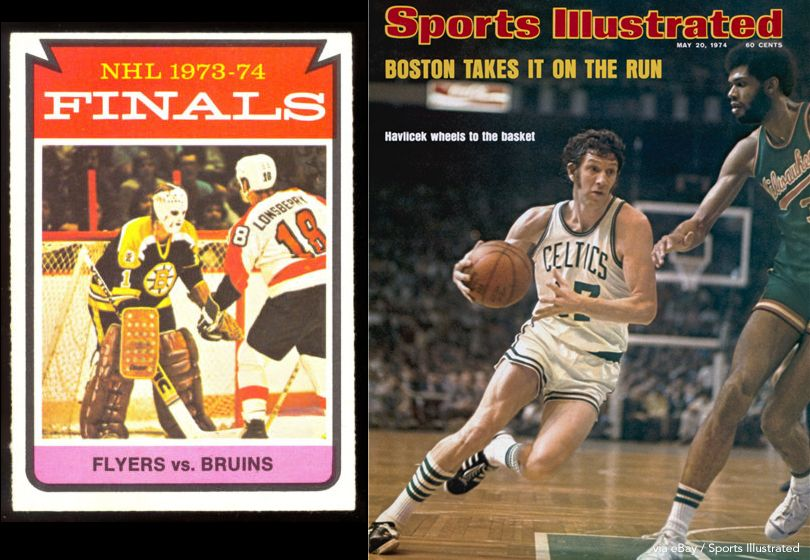 Bruins, Celtics In 1974 Finals