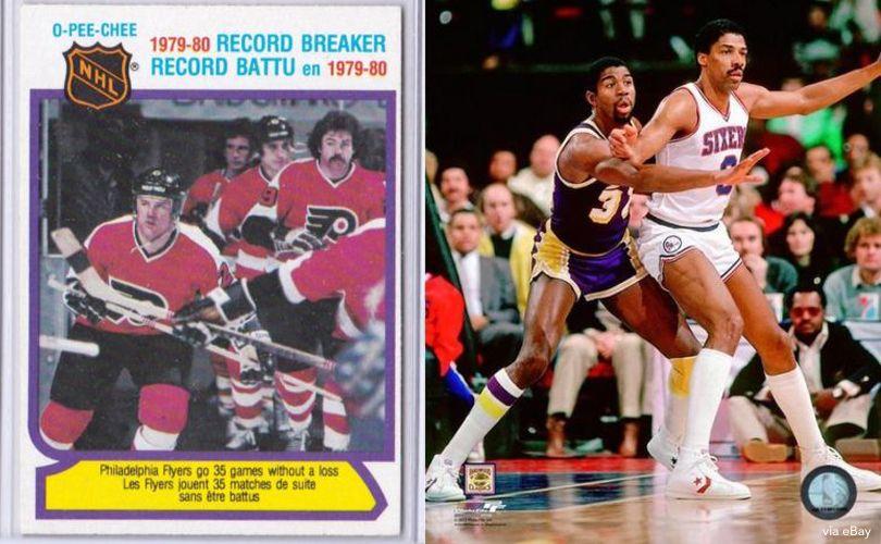 Flyers, 76ers In 1980 Finals