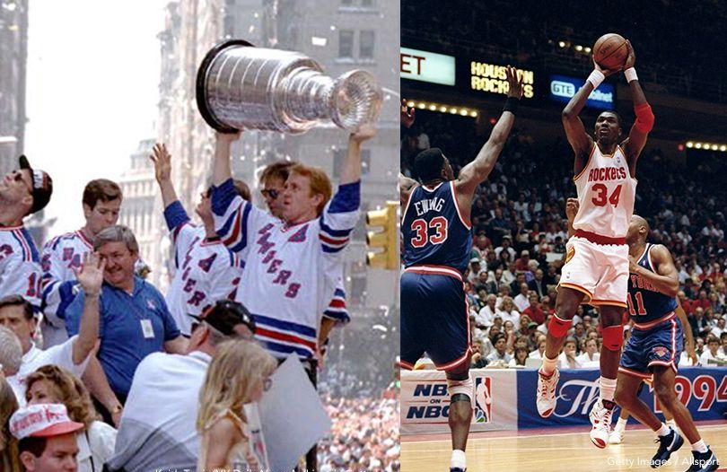 Rangers, Knicks In 1994 Finals