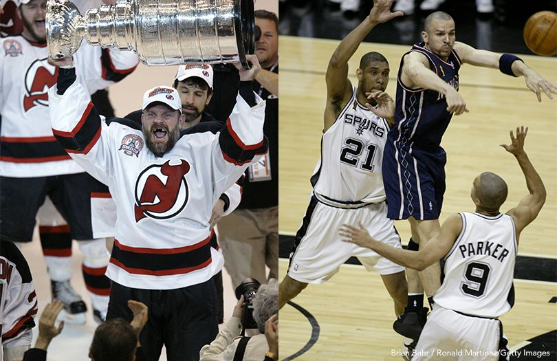 Devils, Nets In 2003 Finals