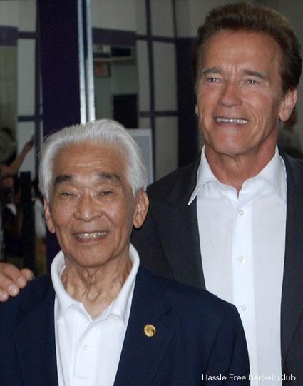 Tommy Kono Arnold Schwarzenegger