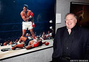 Neil Leifer With Muhammad Ali Photo