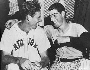 Ted Williams Joe DiMaggio
