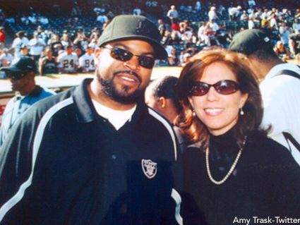 Ice Cube And Amy Trask