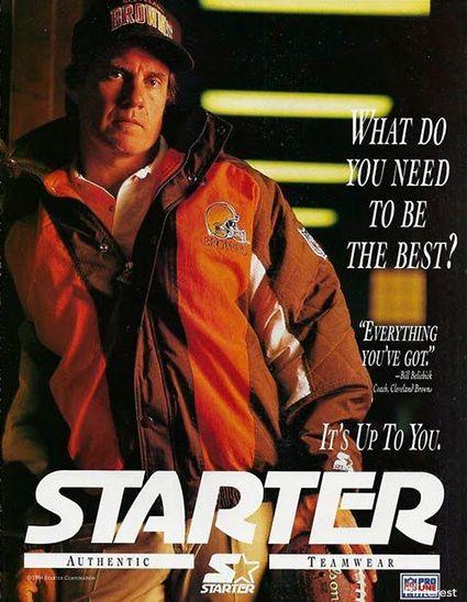 Bill Belichick Starter Ad