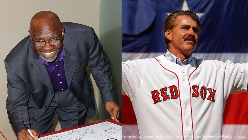Mookie Wilson and Bill Buckner