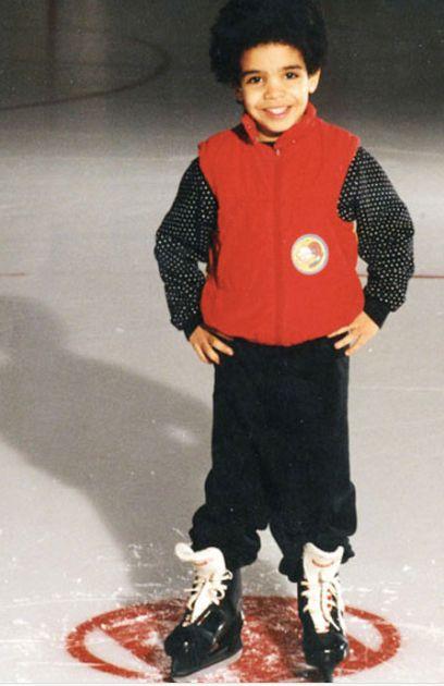 Young Drake On Skates