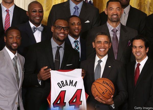Barack Obama, LeBron James