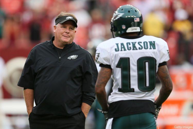 Chip Kelly, DeSean Jackson