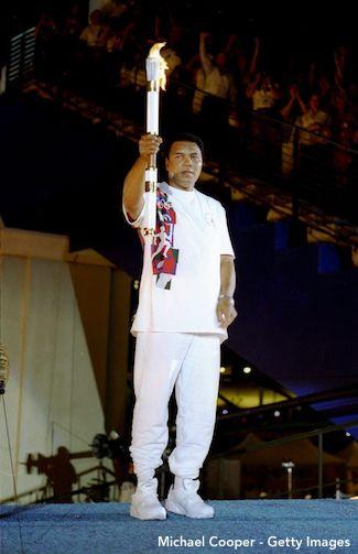 Muhammad Ali Olympic Flame 1996