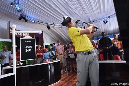 Zach Johnson, Samsung VR