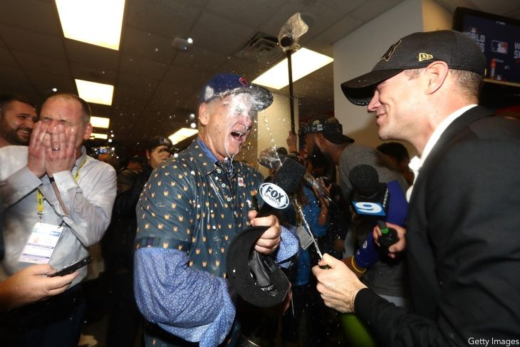 Bill Murray, Theo Epstein, Chicago Cubs