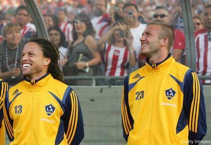 Cobi Jones, David Beckham
