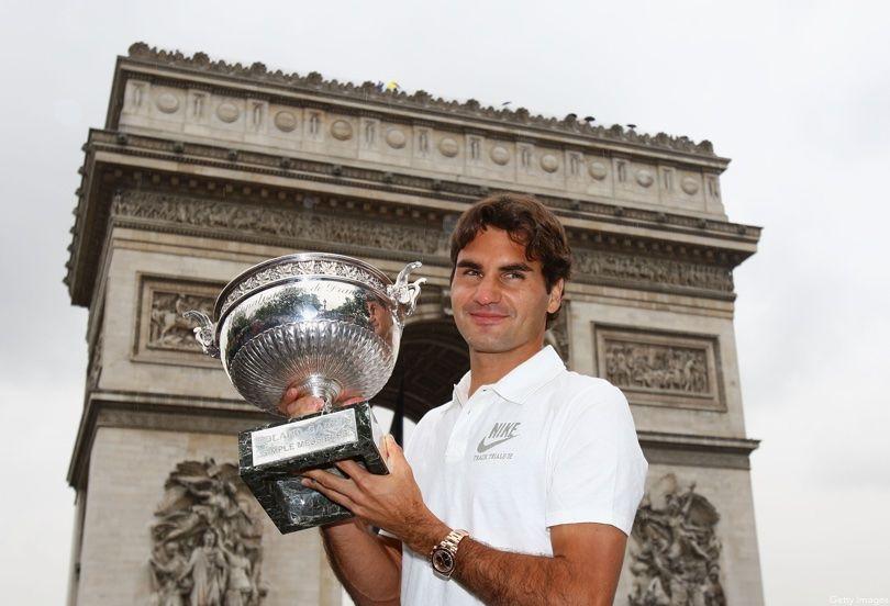 Roger Federer In Paris