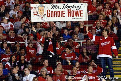 Gordie Howe Tribute Detroit