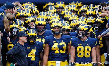 Jim Harbaugh And Michigan Wolverines