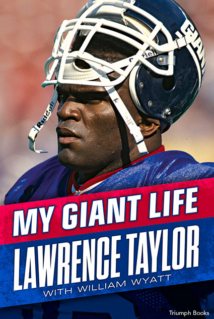 Lawrence Taylor Book Cover