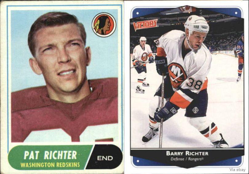 Pat Richter, Barry Richter