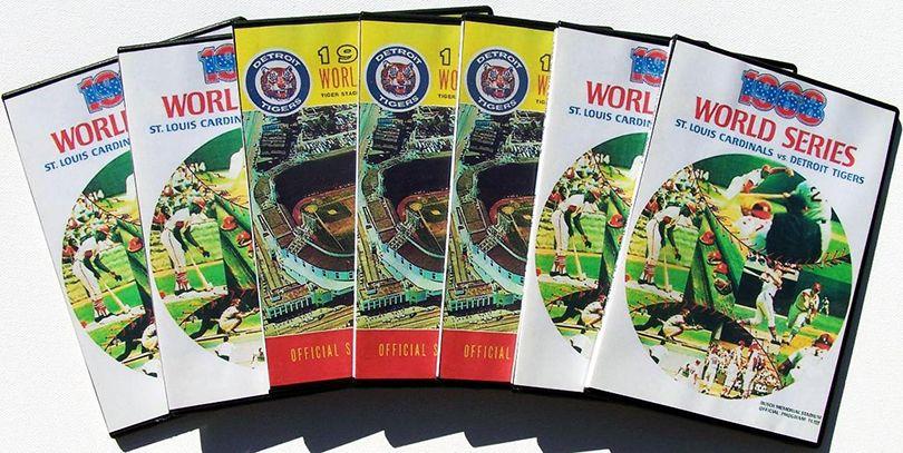 Tigers Cardinals 1968 World Series