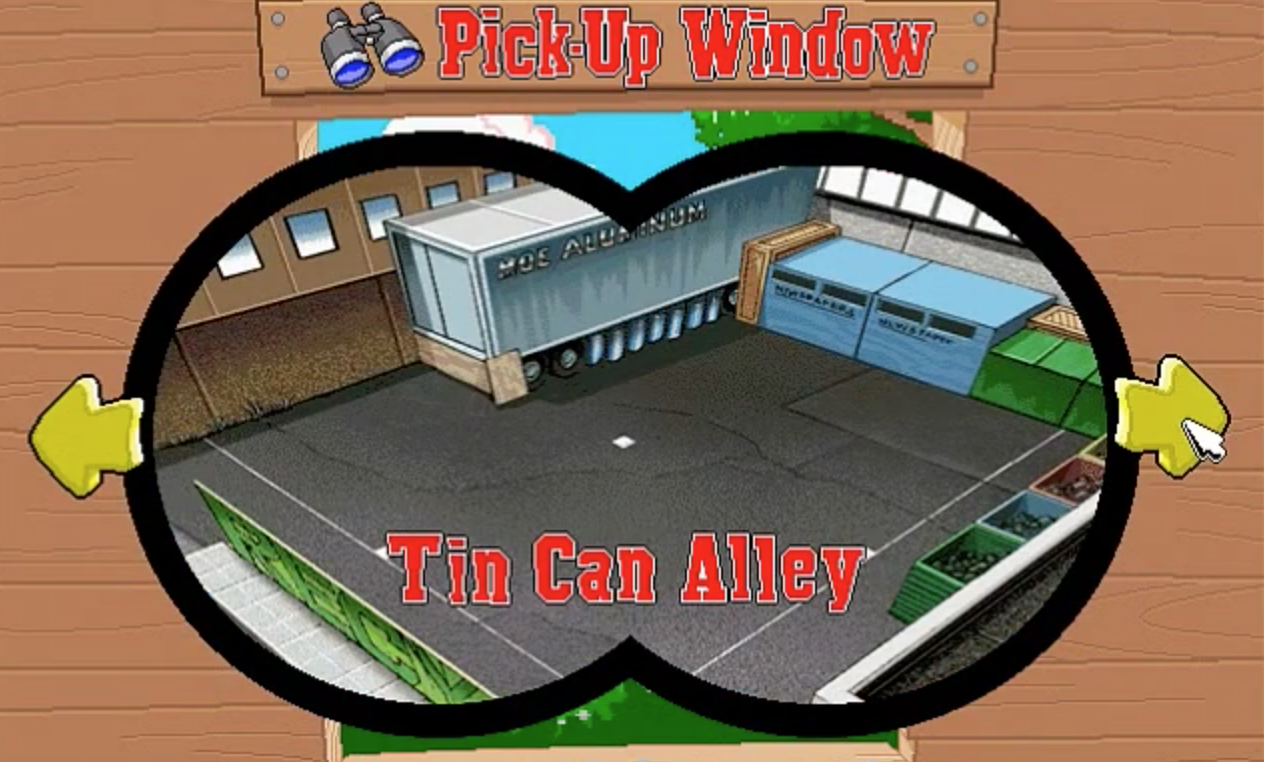 Tin Can Alley!
