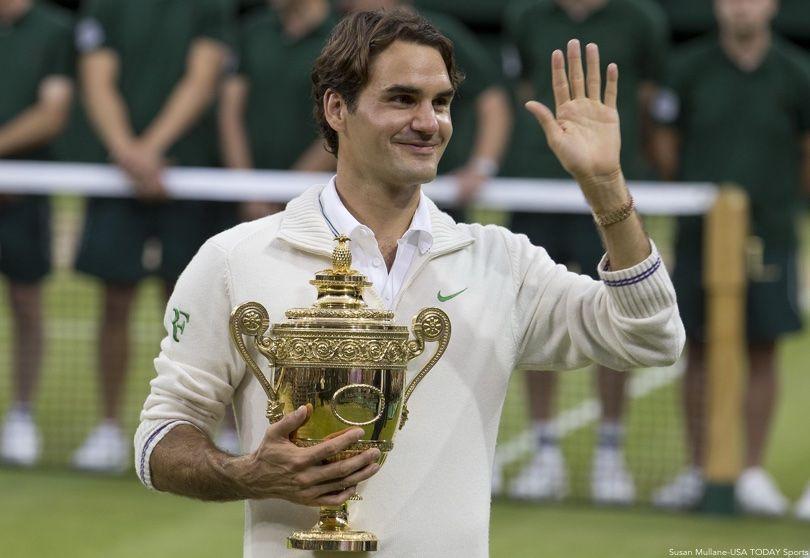 Roger Federer Wimbledon Trophy