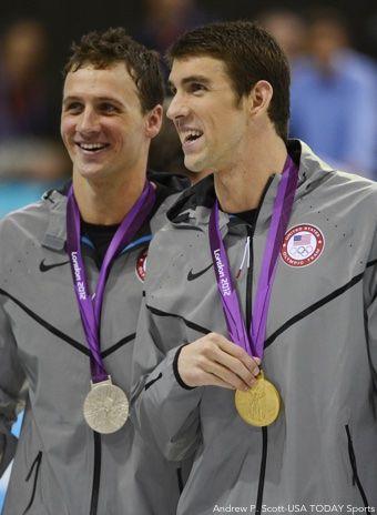 Ryan Lochte Michael Phelps