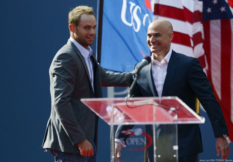 Andy Roddick, Andre Agassi