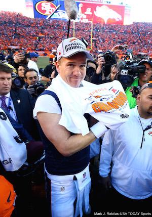 Peyton Manning AFC Championship