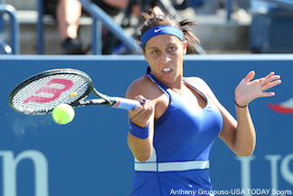 Madison Keys Forehand