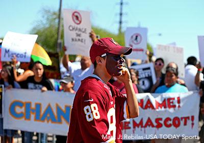 Redskins Name Protest
