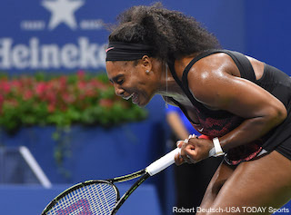 Serena Williams Celebration