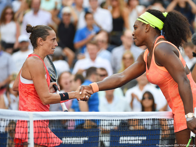 Serena Williams And Roberta Vinci