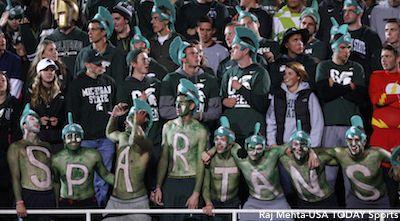 Michigan State Fans