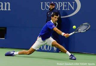 Novak Djokovic Split