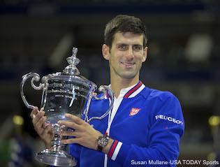 Novak Djokovic Trophy