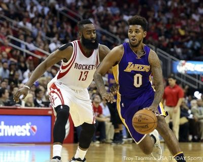 James Harden Nick Young