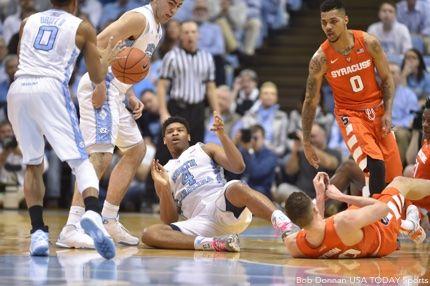Syracuse Orange North Carolina Tar Heels