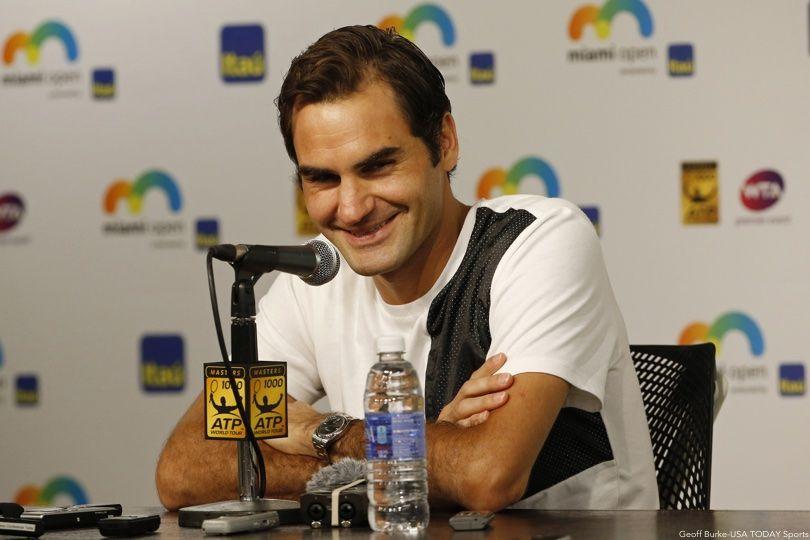 Roger Federer Smile