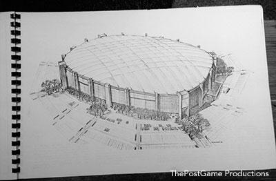 Lambeau Dome Study