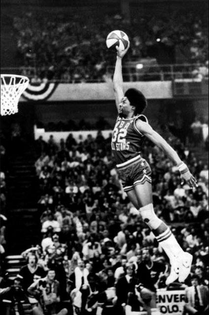 Julius Erving, 1976 ABA Dunk Contest