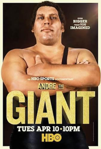 Andre The Giant HBO Documentary Poster