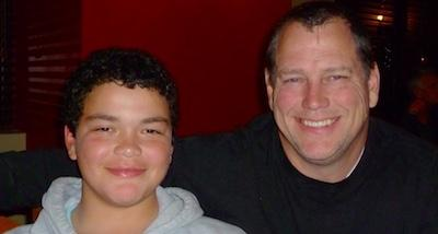 Connor Williams And His Dad