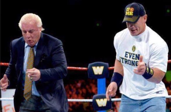 Ric Flair, John Cena