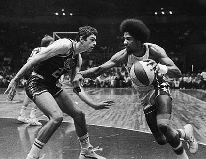 Bobby Jones, Julius Erving: 1976 ABA Finals
