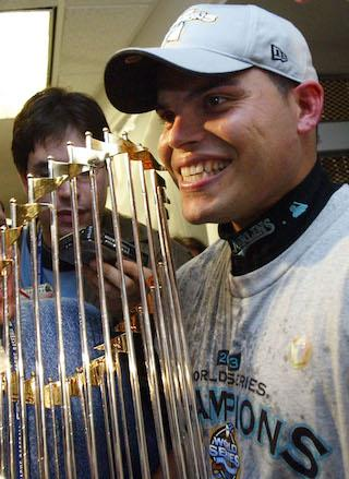 Ivan Rodriguez Wins World Series